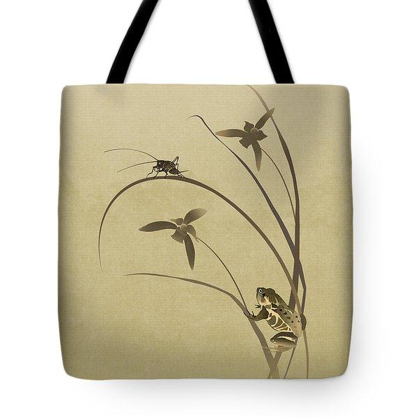 Orchid Sonata Tote Bag