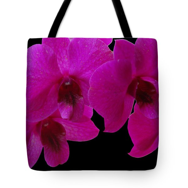 Orchid Song Tote Bag