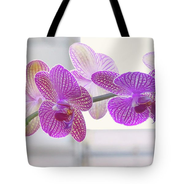 Orchid Spray Tote Bag