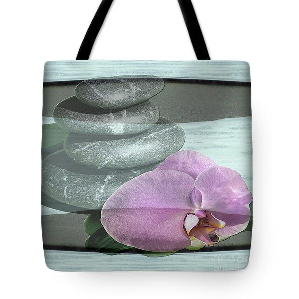 Orchid Tranquility Tote Bag
