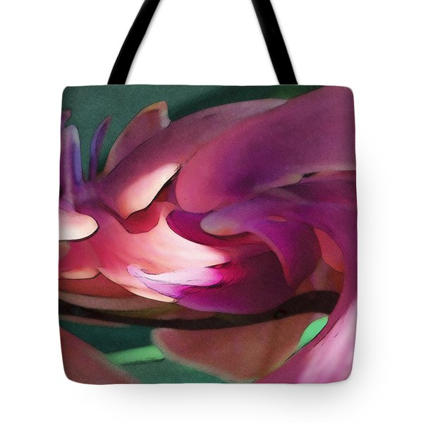 Orchid Variation Borderless Tote Bag