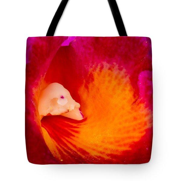 Orchid Vortex 458 Tote Bag