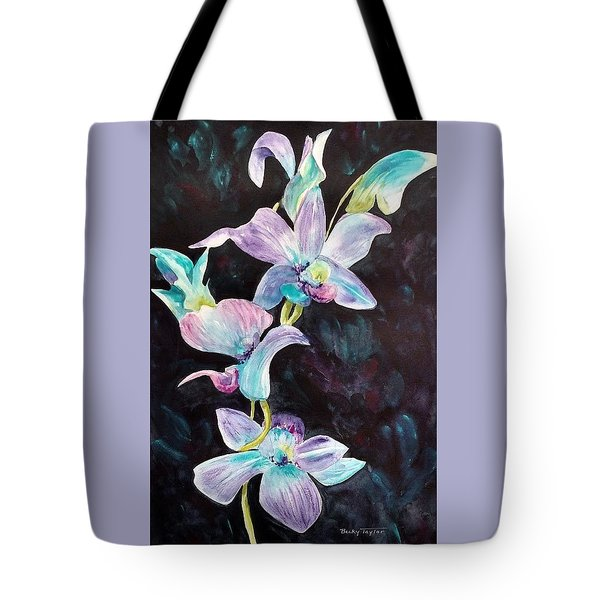 Orchids Alive Tote Bag
