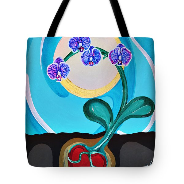 Orchids For My Love Tote Bag