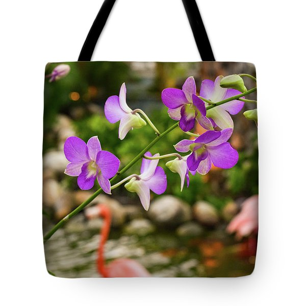 Orchids In Paradise Tote Bag
