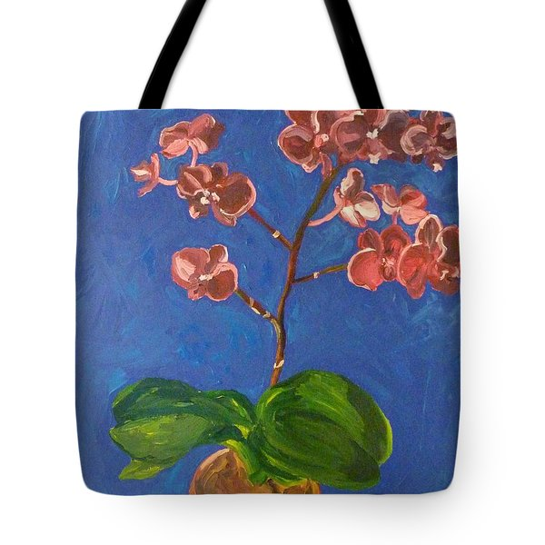Orchids Tote Bag by Joshua Redman