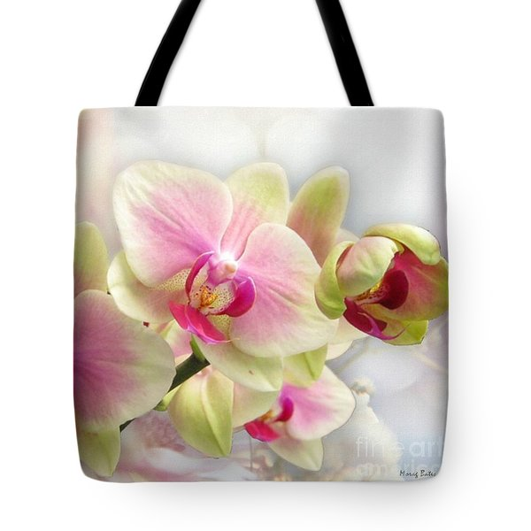 Orchids Tote Bag by Morag Bates