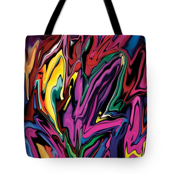 Orchids Tote Bag by Rabi Khan