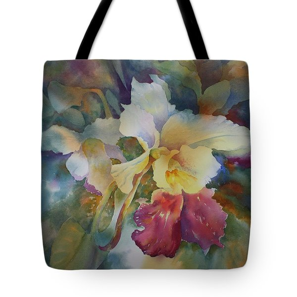 Orchidstrated Tote Bag