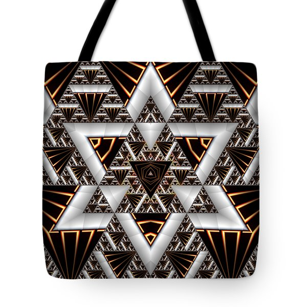 Tote Bag featuring the digital art Order And Chaos by Manny Lorenzo