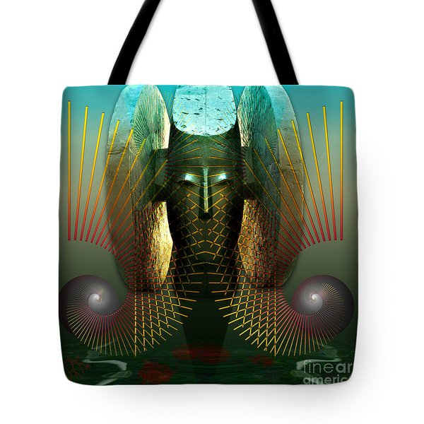 Order And Serenity Tote Bag