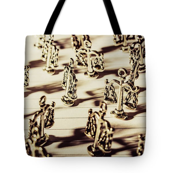 Tote Bag featuring the photograph Order Of Law And Justice by Jorgo Photography - Wall Art Gallery