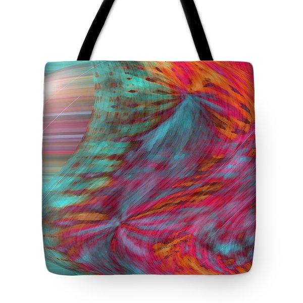 Order Of The Universe Tote Bag by Linda Sannuti