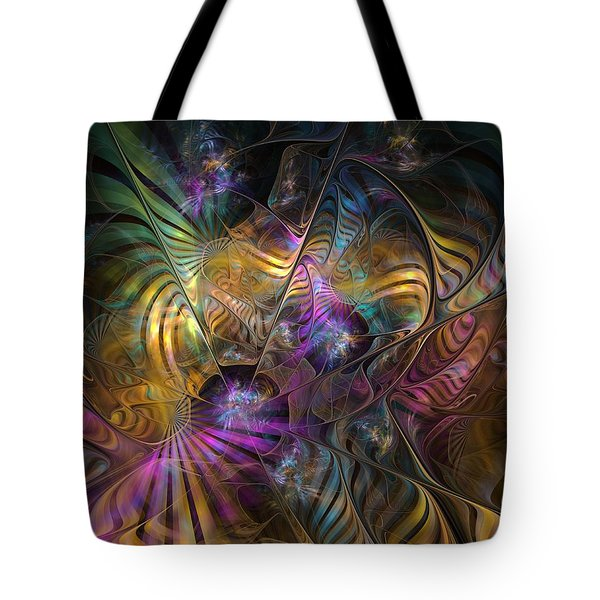 Tote Bag featuring the digital art Ordinary Instances by NirvanaBlues