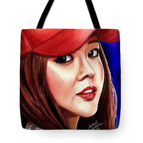 Tote Bag featuring the painting Ordinary Moments by Michal Madison