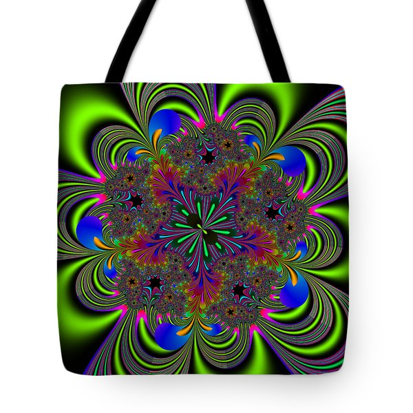 Tote Bag featuring the digital art Orditively by Andrew Kotlinski
