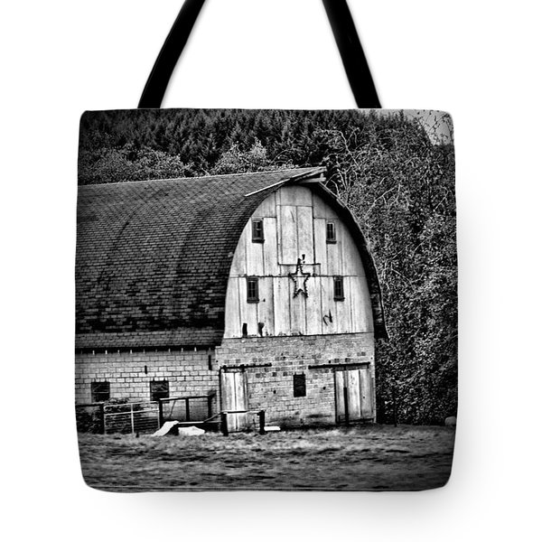 Oregon Barn Tote Bag