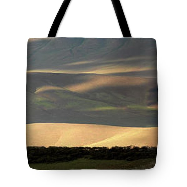 Oregon Canyon Mountain Layers And Textures Tote Bag by Leland D Howard