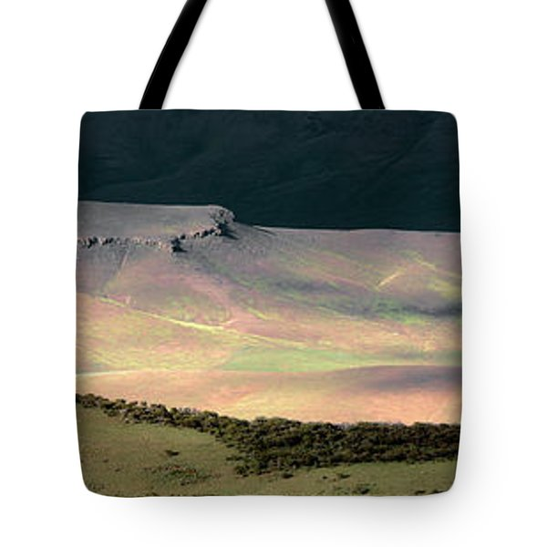 Oregon Canyon Mountain Layers Tote Bag by Leland D Howard