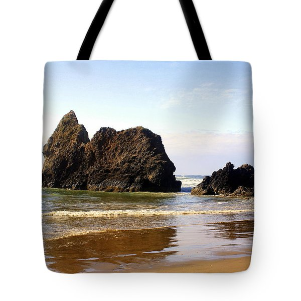 Oregon Coast 10 Tote Bag by Marty Koch