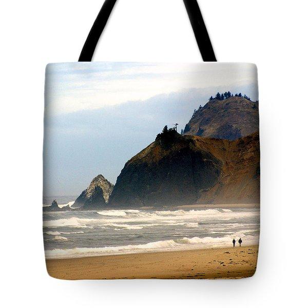 Oregon Coast 12 Tote Bag by Marty Koch