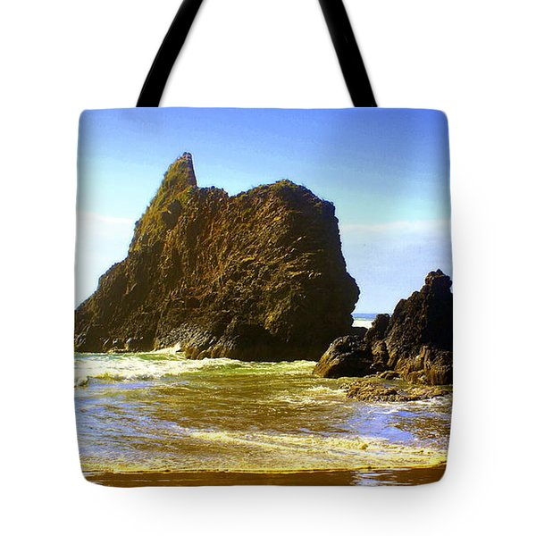 Oregon Coast 13 Tote Bag by Marty Koch