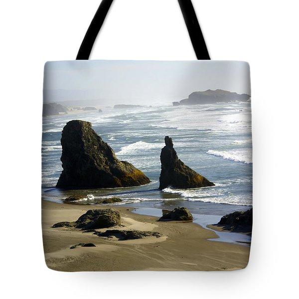 Oregon Coast 19 Tote Bag by Marty Koch