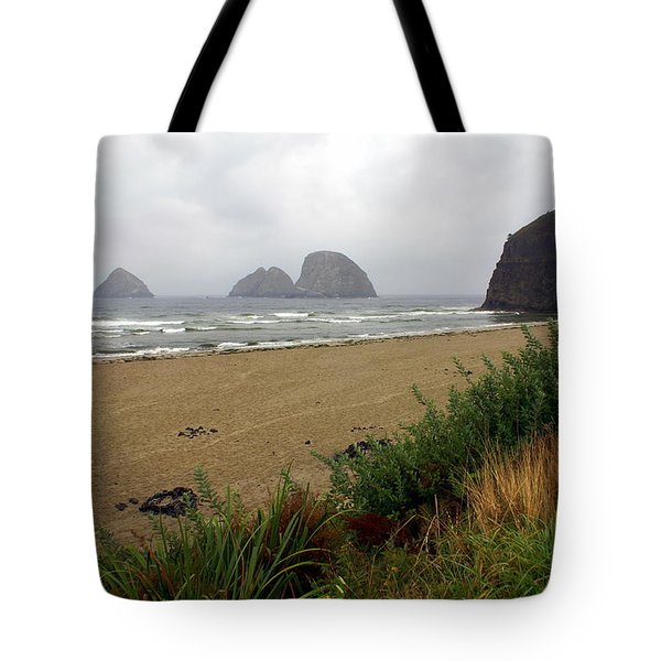 Oregon Coast 2 Tote Bag by Marty Koch