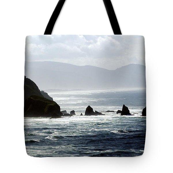 Oregon Coast 5 Tote Bag by Marty Koch
