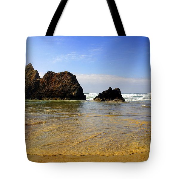 Oregon Coast 9 Tote Bag by Marty Koch