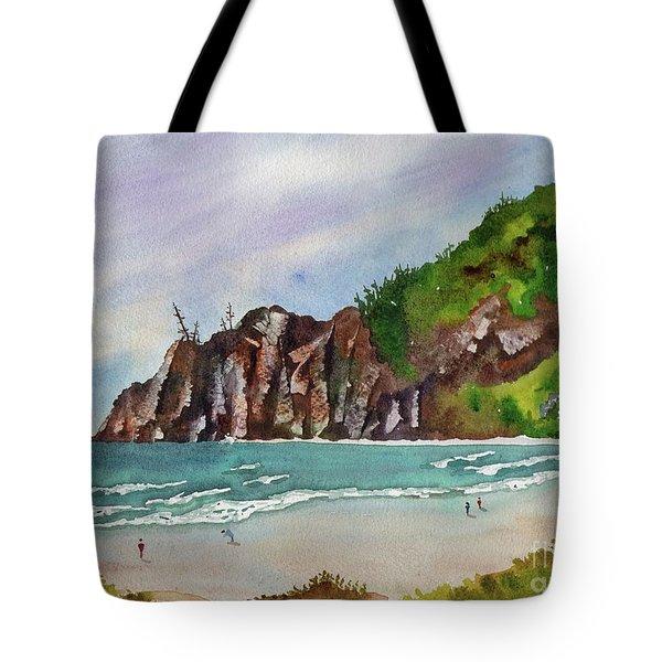 Oregon Coast Tote Bag by Melanie Pruitt