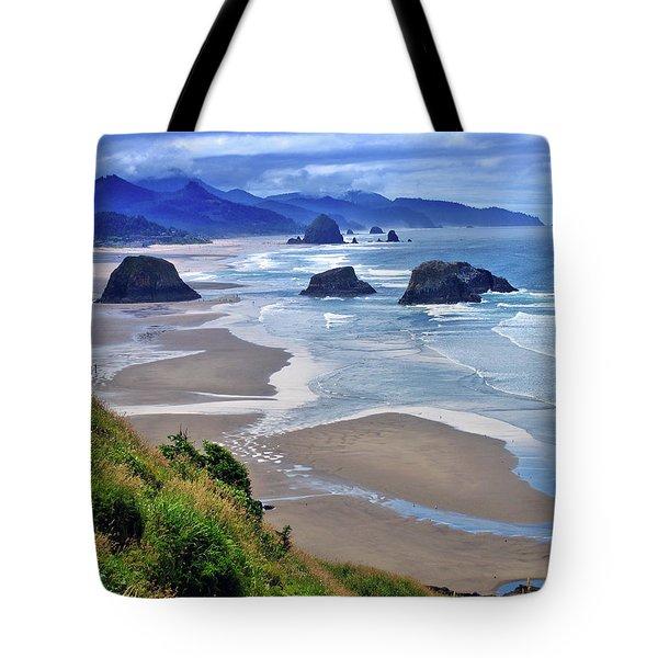 Oregon Coast Tote Bag by Scott Mahon