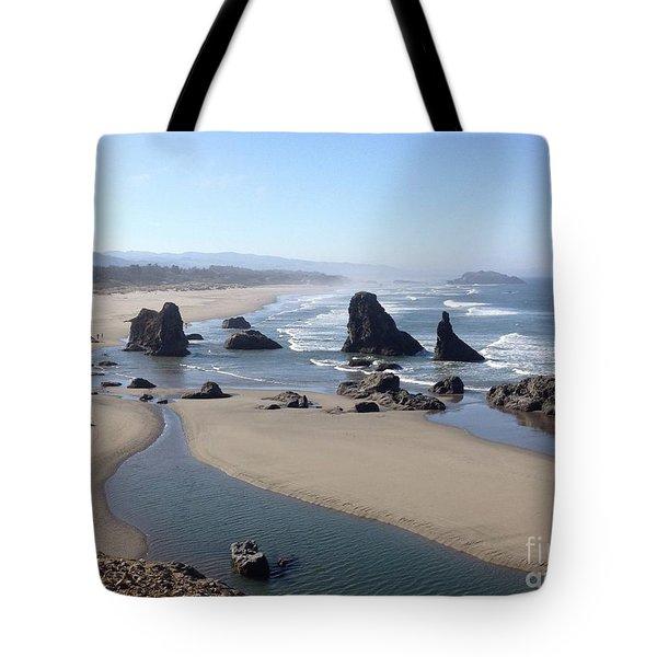 Oregon Coast Sea Stacks Tote Bag