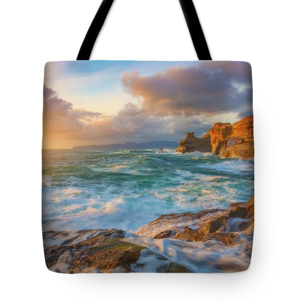 Tote Bag featuring the photograph Oregon Coast Wonder by Darren White