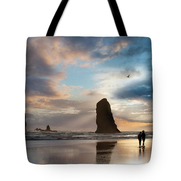 Oregon Coastine Tote Bag
