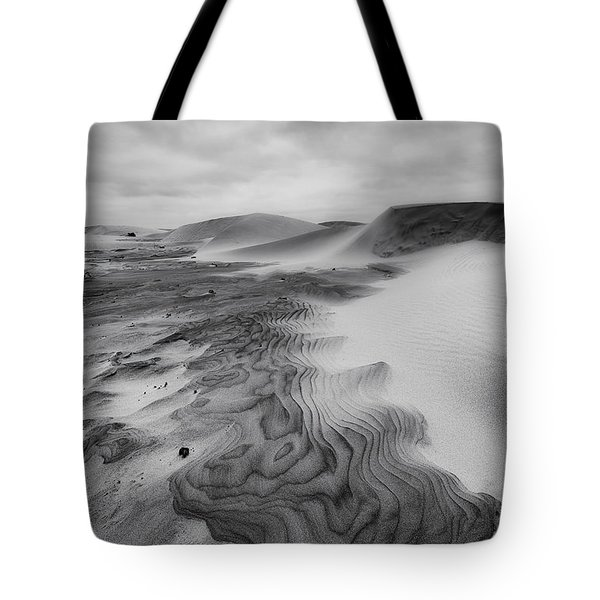 Tote Bag featuring the photograph Oregon Dune Wasteland 2 by Ryan Manuel