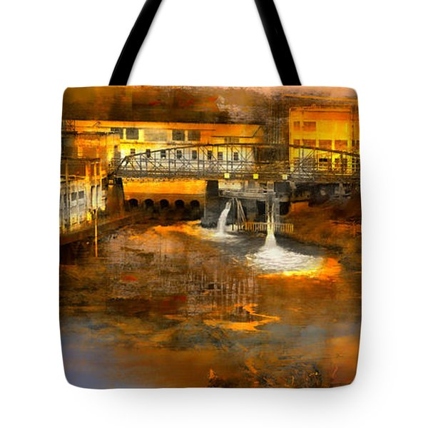 Oregon Electric And Mill Tote Bag