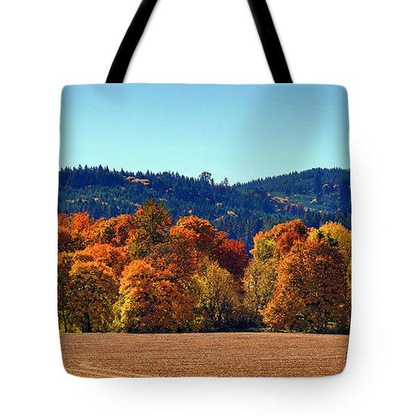 Oregon Fall Tote Bag