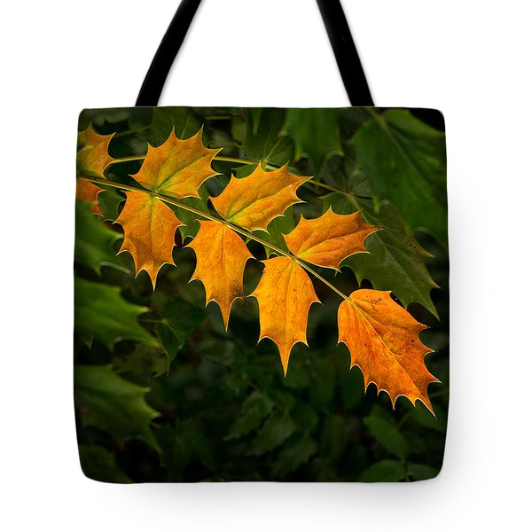 Oregon Grape Autumn Tote Bag