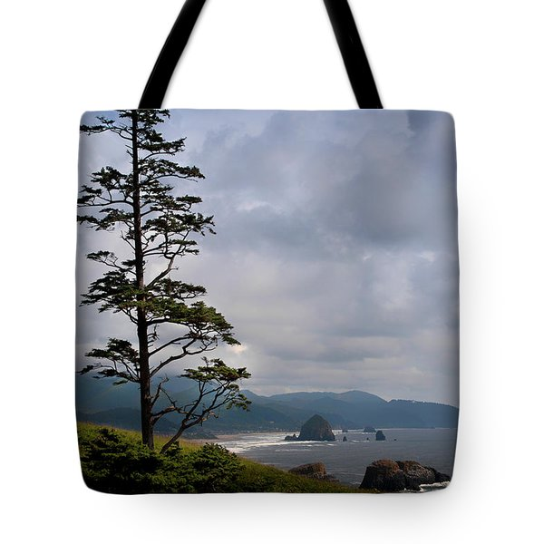 Oregon Ocean Vista Tote Bag