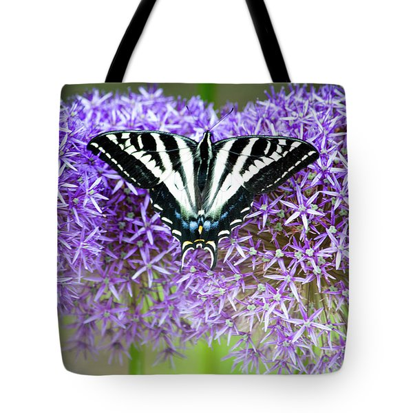 Tote Bag featuring the photograph Oregon Swallowtail by Bonnie Bruno