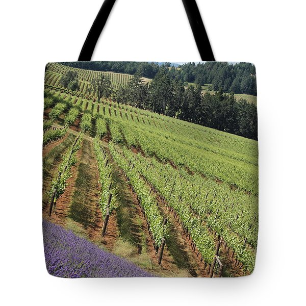 Oregon Vineyard Tote Bag
