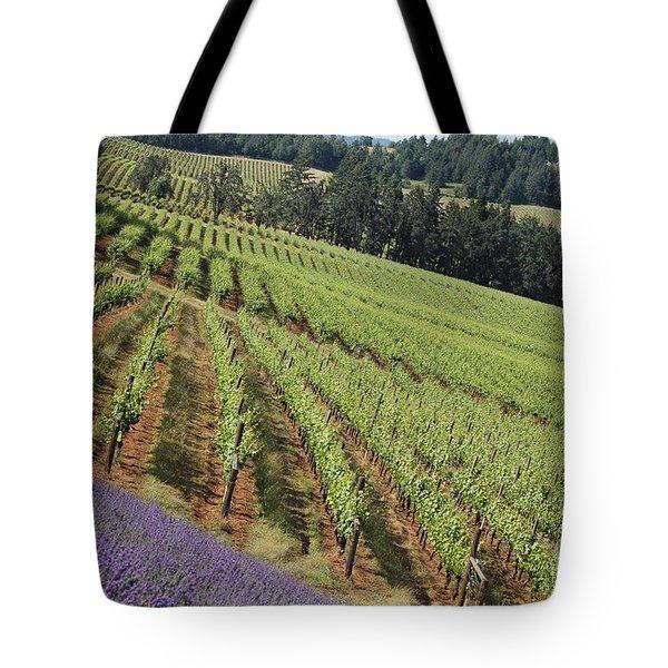 Oregon Vineyard Tote Bag