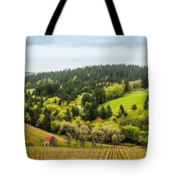 Oregon Wine Country Tote Bag