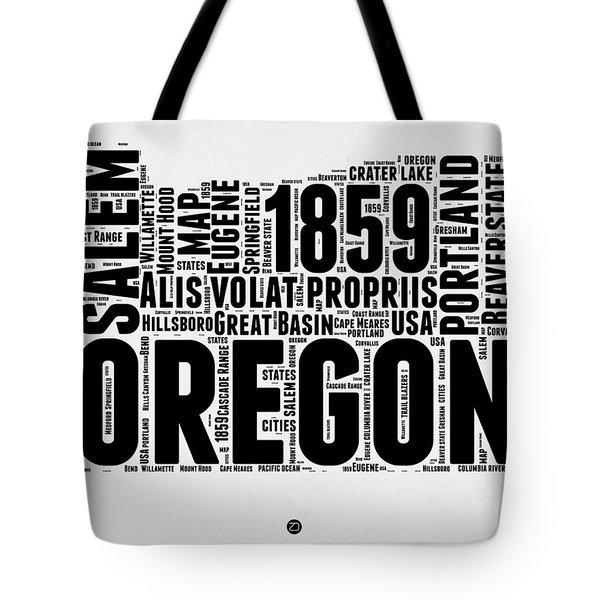 Oregon Word Cloud 1 Tote Bag