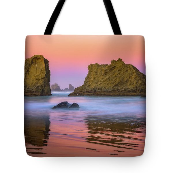 Oregon's New Day Tote Bag by Darren White