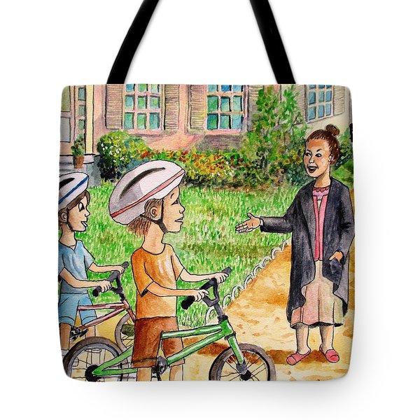 Oreo And Braun Tote Bag