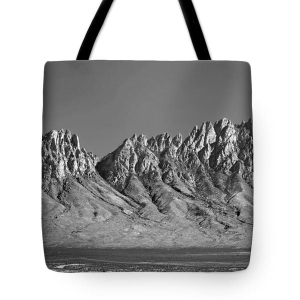 214878-organ Mountains Panorama     Tote Bag