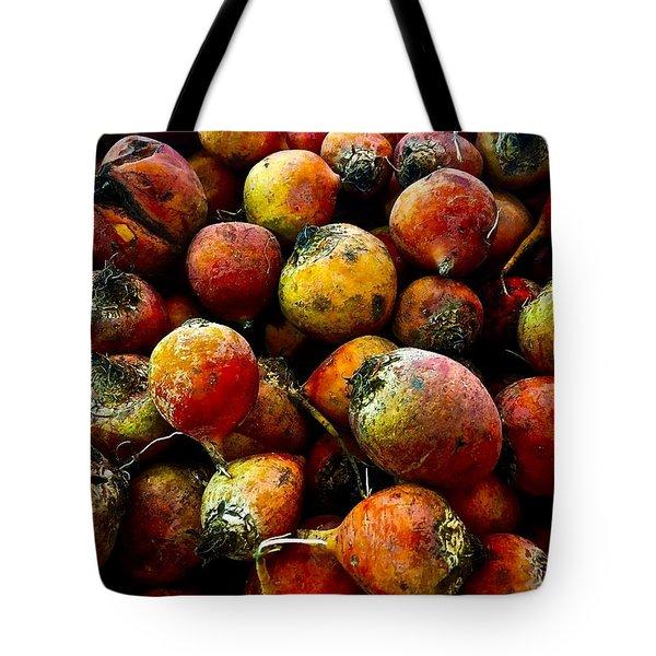 Organic Beets Tote Bag