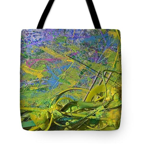 Organic Choas #3 Tote Bag